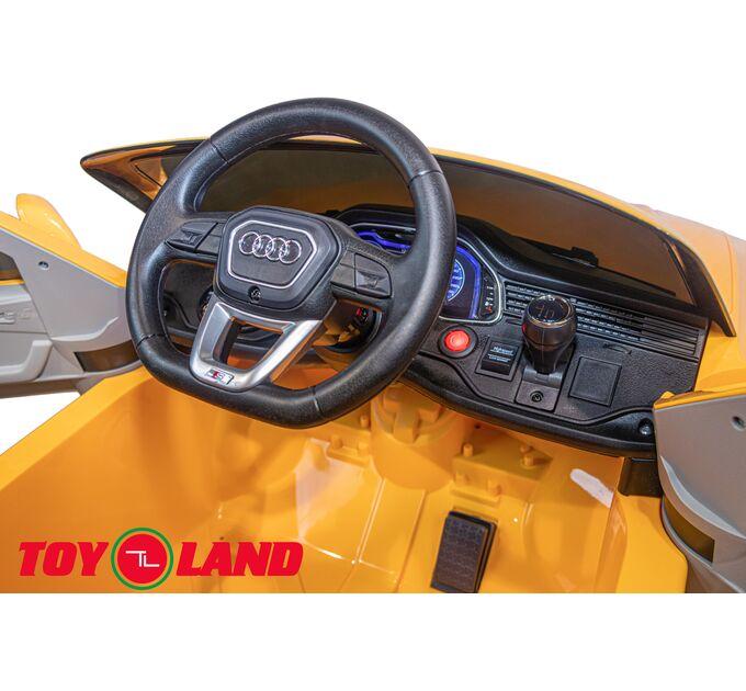 Джип Audi Q8 Желтый краска