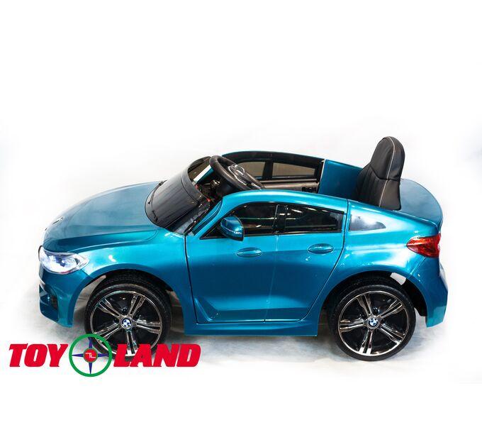Автомобиль BMW 6 GT Синий краска