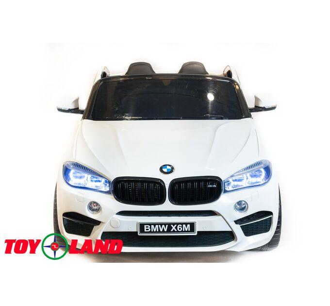 Джип BMW X6M Белый