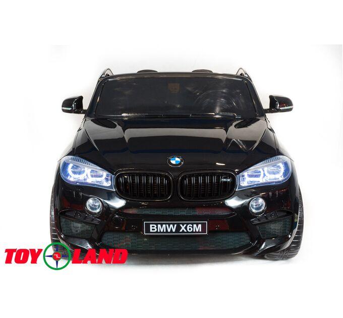 Джип BMW X6M Черный краска