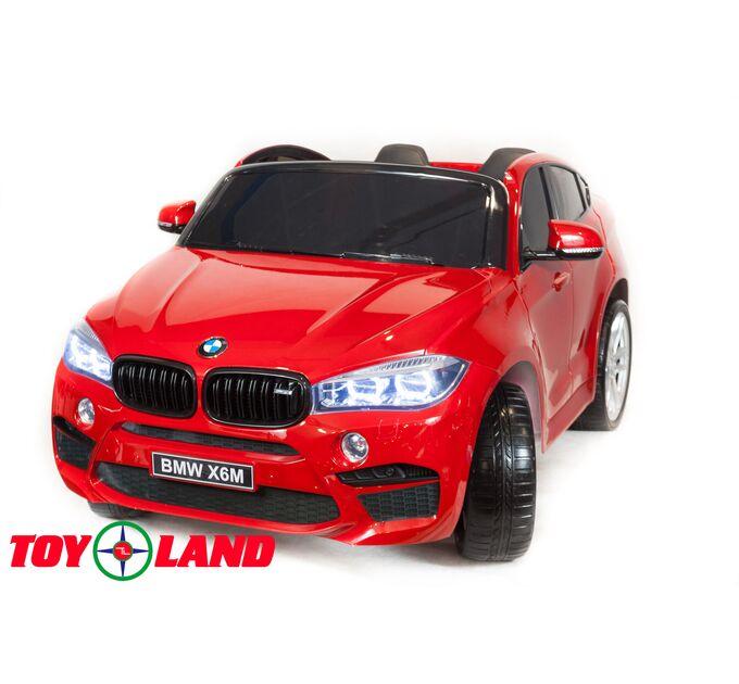 Джип BMW X6M mini Красный краска