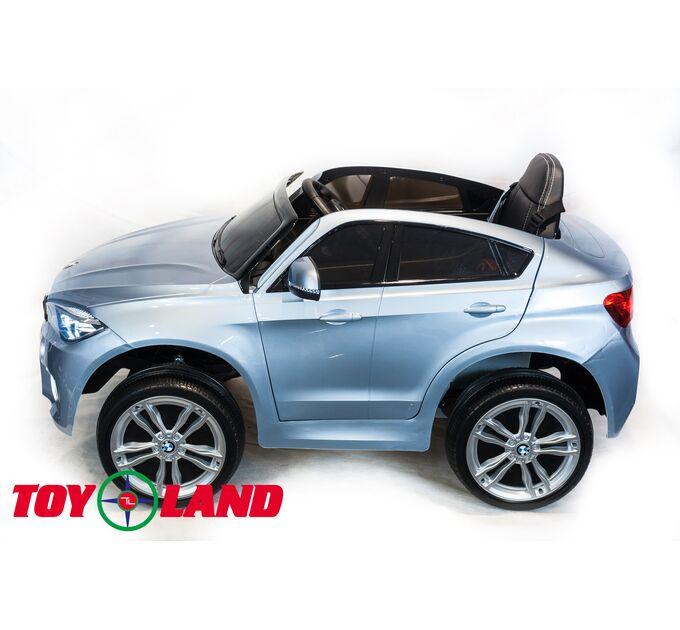 Джип BMW X6M mini Серебро краска