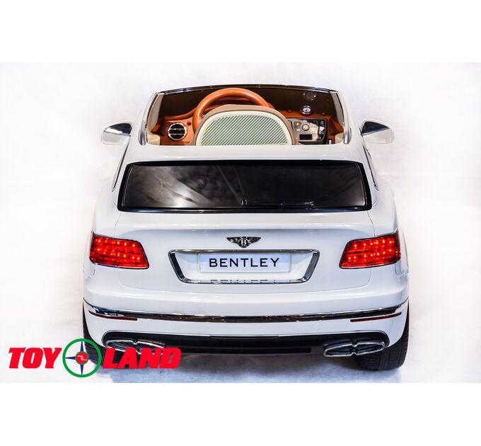 Джип Bentley Bentayga Белый