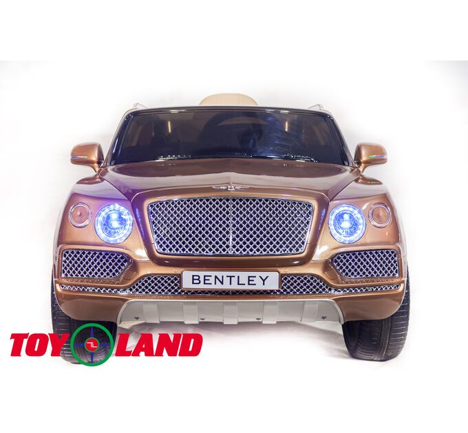 Джип Bentley Bentayga Бронза краска