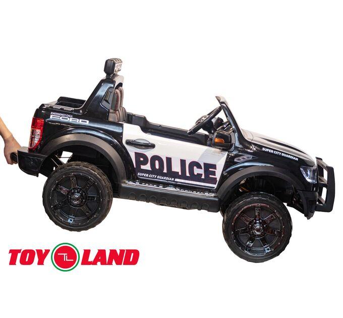 Джип Ford Raptor Ford Raptor Police черный краска