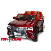Джип Lexus LX 570 Красный краска
