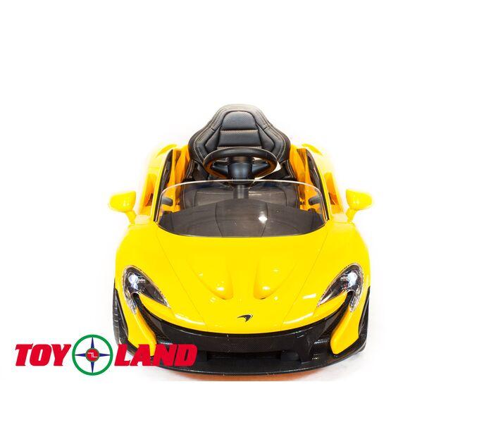 Автомобиль McLaren P1 Желтый