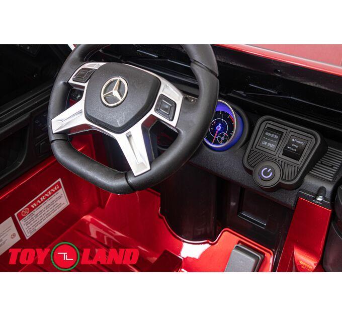 Джип Mercedes Benz Maybach Small G 650S Красный краска