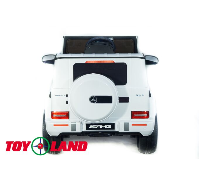 Джип Mercedes Benz G 63 Big BBH-0003 Белый
