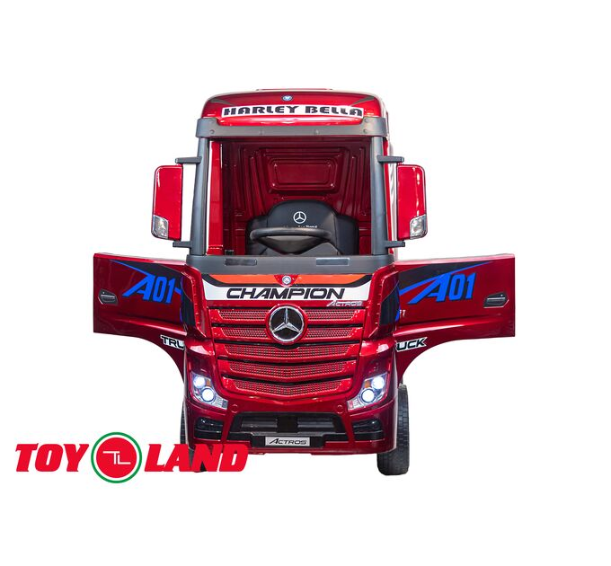 Грузовик Truck HL358 красный краска