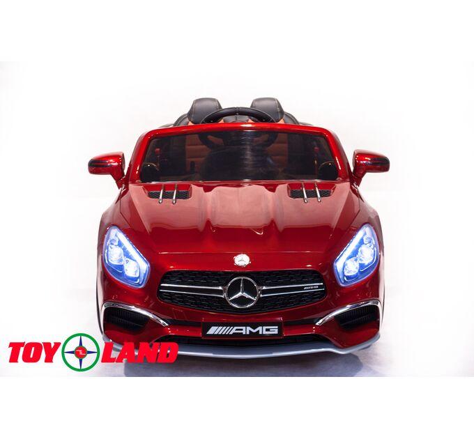 Автомобиль Mercedes Benz SL 65 Красный краска