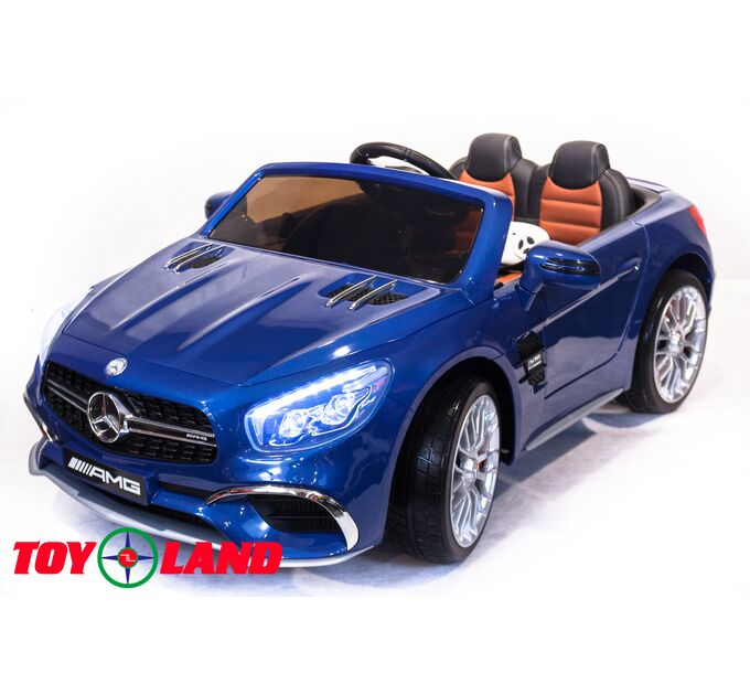 Автомобиль Mercedes Benz SL 65 Синий краска