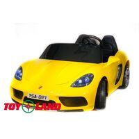 Автомобиль Porsche Cayman YSA021-24V (180 W) Желтый краска
