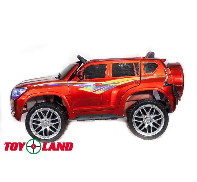 Джип Toyota Prado YHD5637 Красный краска