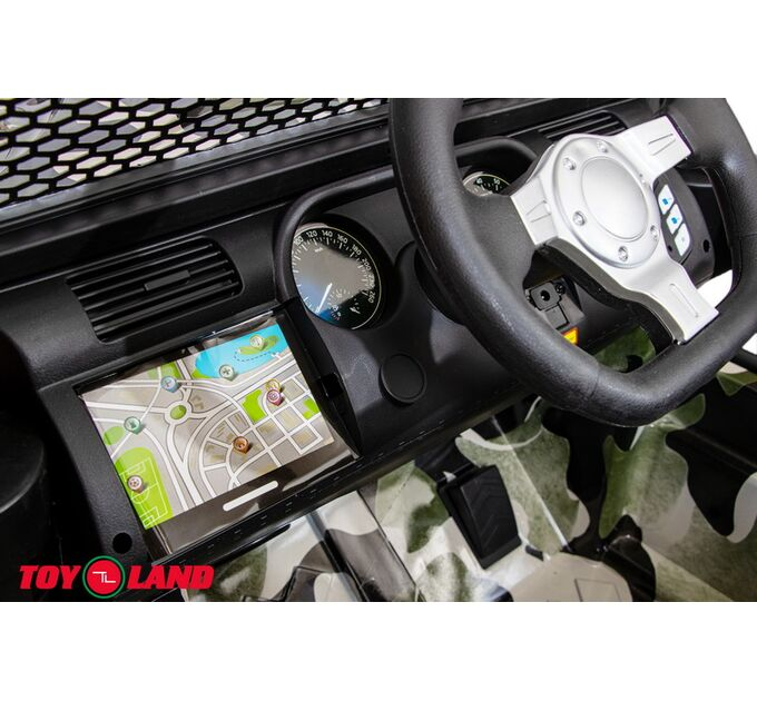Джип Jeep 24V JC666 Хаки зеленый краска