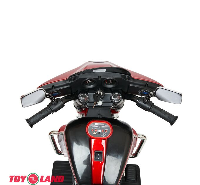 Трицикл Harley-Davidson Moto YBD7173 Красный краска