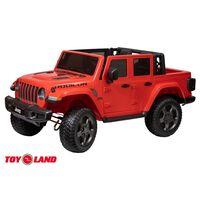Джип Jeep Rubicon 6768R Красный