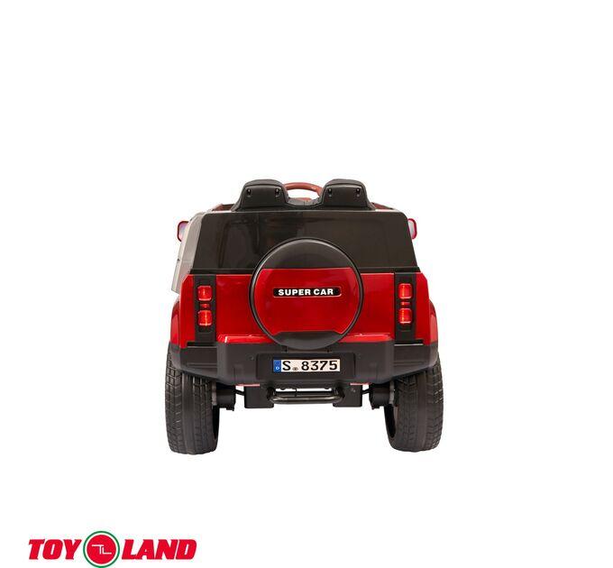 Джип Range Rover YBM8375 Красный краска