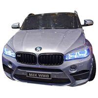 Джип BMW X6M Серебро краска